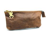 Small Zippered Bag & Custom Zipper Pull
