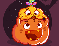Pumpkins! - Sticker for Chat
