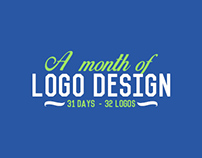 A month of logo design