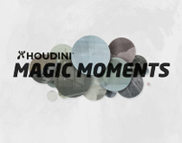 HOUDINI MAGIC MOMENTS