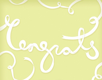Congratulations Card - Baby Boy