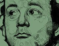 Bill Murray sketch WIP
