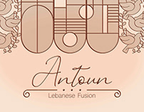 Antoun Lebanese Fusion Branding