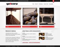 One Steel now Arrium website concept design