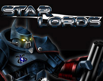 Star Lords - Character Designs and Animations