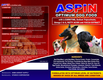 ASPIN Dog Food Product Brochure