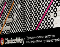 Choiceway Travel identity