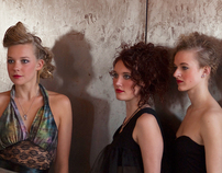 Model Shoot at Spill the Wine Loft, Summer 2010
