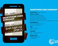 Goethe Institut Erbil Smartphone Video WS Flyer