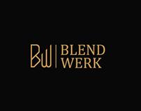 Blend Werk Brand identity