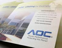 AOC LEED Certification Brochure