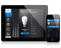 "APP: Philips Lighting ""LEDs make a switch"""