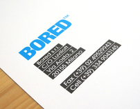 BORED | catalog and labelling | 2011