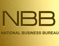 National Business Bureau logo design