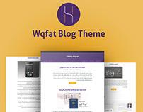 Wqfat Blog design