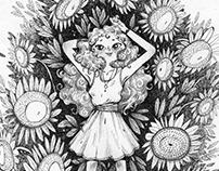 Dedemin Ayçiçeği Tarlası
