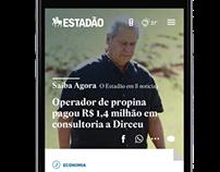 Mobile - Estadão