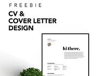 Freebie - Resume & Cover Letter Design | 2019