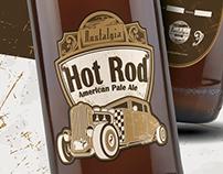 Rótulo Cerveja | Hot Rod | Nostalgia Bier