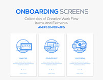 Onboarding Screens for App