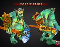 Forest Troll - 3D Character