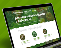 FRUKTOSHOP - fruits & vegetables online shop
