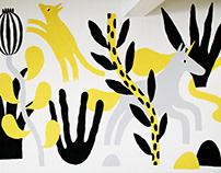 Mural / A Grid