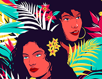 IBEYI - Alternative Music Poster