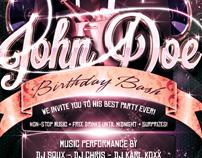 Birthday Bash Flyer /Psd