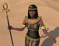 Old Egypt Characters