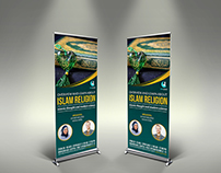 Islam Signage Rollup Banner Template