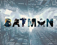 Batman | lettering composition
