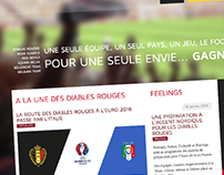 Belgian Team Website