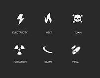 Damage Icons