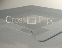 Cross Pipe Coffee Table