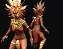 Diablo III Witch doctor Game Model