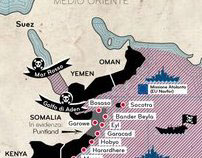 Mappa sulla nuova pirateria