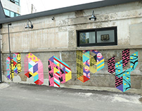 """HAPPY"" for SC ART VILLAGE, Suncheon city, Korea"