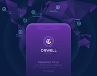 Лендинг Orwell Global ICO