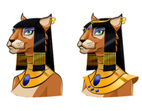 Reel Deal Egyptian-themed Avatars
