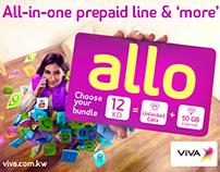 VIVA | Allo Prepaid line