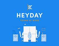 Heyday Branding, Illustrations & Website