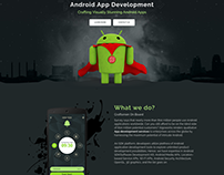 Android App Development Web Page   Algoworks