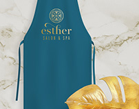 Esther Salon & Spa | Identity and Branding WIP