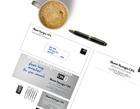 Accountant stationery set