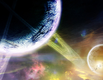 Sci-Fi Art Work