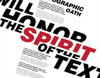 I will honor the spirit of the text