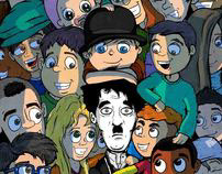 Charlie Chaplin ( Comic book ) (Graduation Project) ...