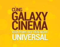Cùng Galaxy Cinema Đến với Universal