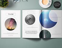 Clean Minimal Elegant Magazine Template